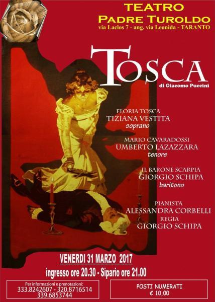 Tosca - opera lirica in formato pocket