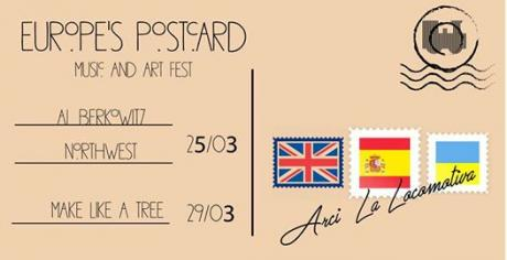Europe's Postcards #1 Al Berkowitz Spain+Northwest UK live