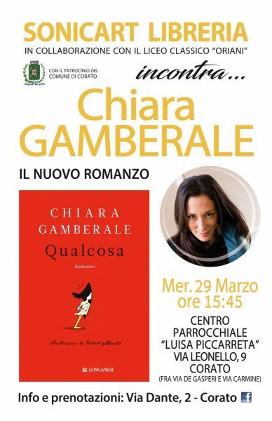 Incontro con Chiara GAMBERALE
