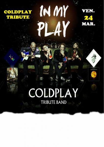 """Coldplay tribute live at FERUS - """" In my play """""""