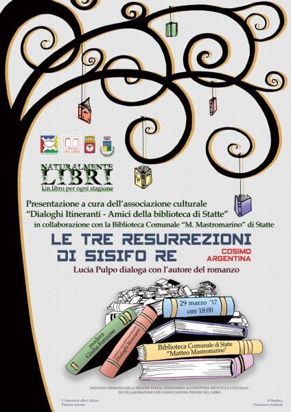 Presentazione libro di Cosimo Argentina