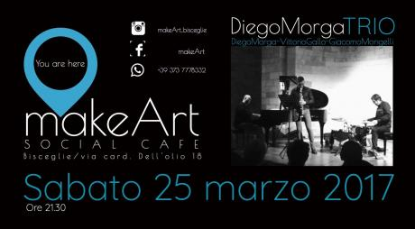 makeArt jazz: Diego Morga trio