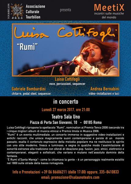 """Luisa Cottifogli """"Rumì"""" in concerto"""