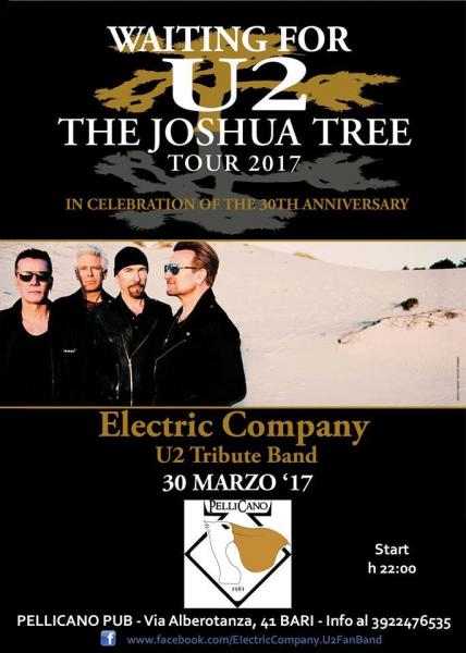 U2 Live Music Event - Waiting For The Joshua Tree 2017