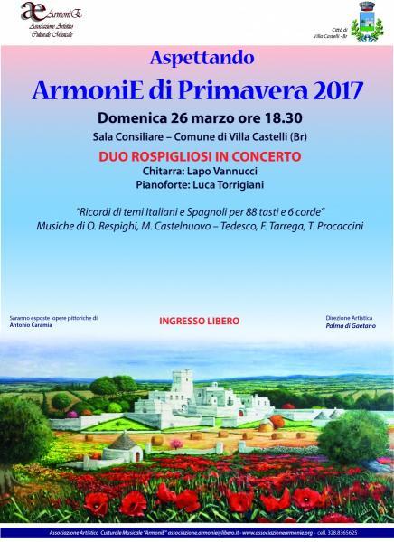 Aspettando ArmoniE di Primavera 2017