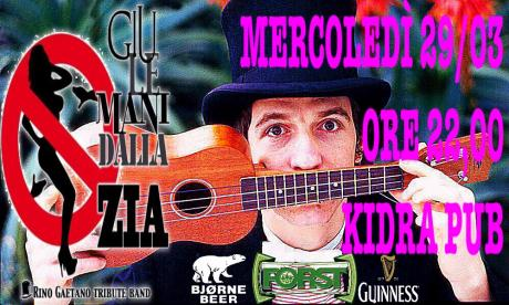 """""""GIÙ LE MANI DALLA ZIA"""" Rino Gaetano Tribute Band!!!"""