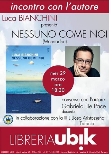 Luca Bianchini alla Ubik