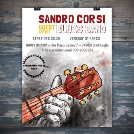"Sandro Corsi ""In & Out"" band"