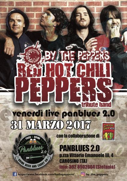 Panblues 2.0 #ByThePeppers Venerdì Live! Rock&Bear