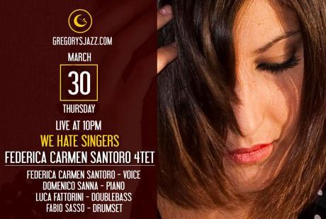 Federica Carmen Santoro 4tet - We Hate Singers