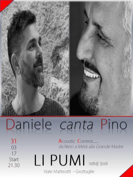Daniele canta Pino
