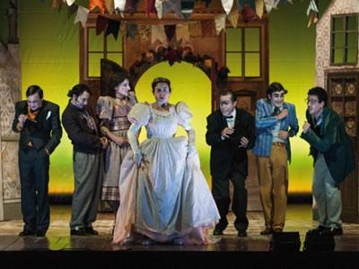 La Bisbetica Domata - Stagione 2016/17 Teatro Curci di Barletta