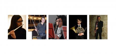 ENARMONIA, quintetto di fiati YOUNG, le domeniche in concerto