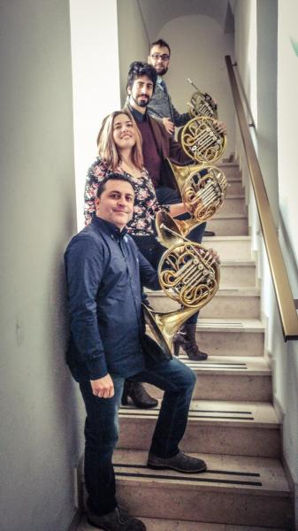 Hero Horn Quartet, Quintetto di Fiati Young, le Domeniche in Concerto
