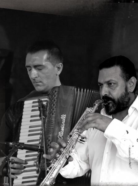 FULVIO PALESE, sassofoni  - ALESSANDRO GAZZA, fisarmonica