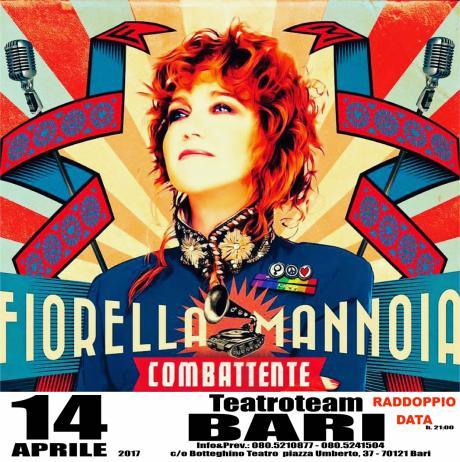 Fiorella Mannoia RADDOPPIA a Bari