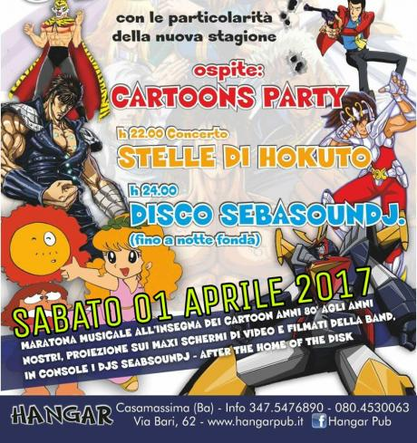 Cartoons Party Concerto STELLE di HOKUTO