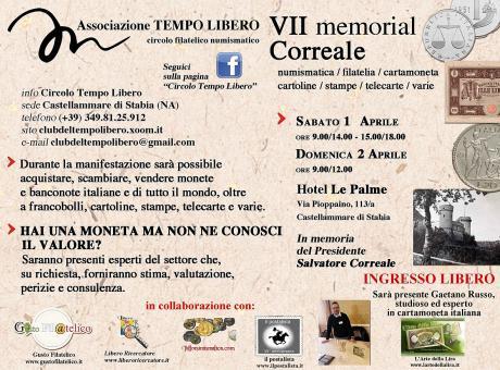 VII Memorial Correale - 1/2 Aprile 2017 Castellammare di Stabia (Napoli)