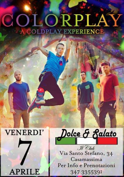 Colorplay - a Coldplay experience al Dietro le quinte