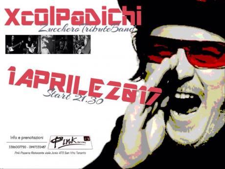 La Tribute Band di Zucchero, XCOLPADICHI, il primo di aprile al PINK