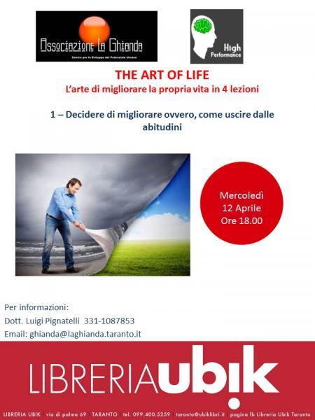The Art of Life - L'arte di migliorare la propria vita