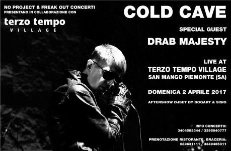 Cold Cave in concerto a Salerno