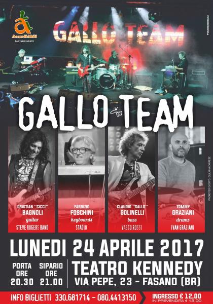 Gallo Team in concerto