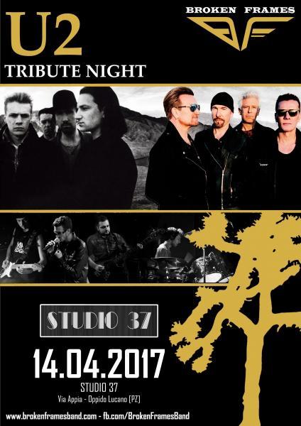 U2 Tribute Night by Broken Frames