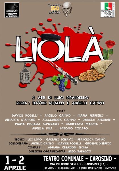 Teatro Festival - LIOLA'