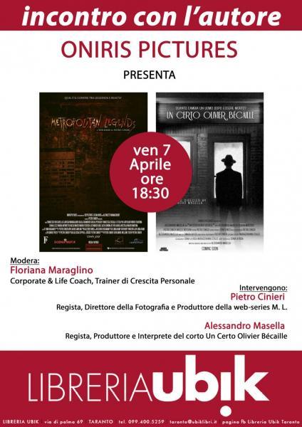 Cinema Indie: Metropolitan Legends + un Certo Olivier Bécaille
