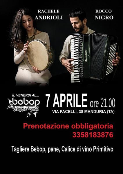 Rocco Nigro e Rachele Andrioli