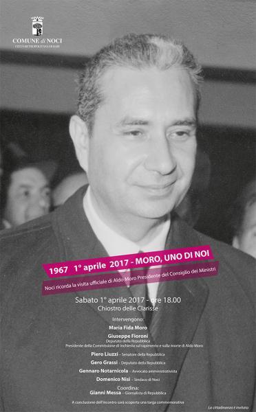 1967 1° Aprile 2017 - Moro, Uno di Noi