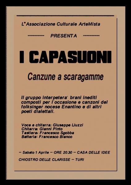 "I Capasuoni: ""Canzune a scaragamme"""