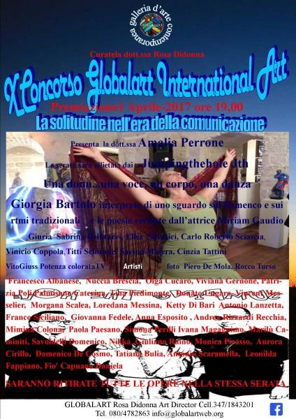 Premiazione x Concorso Globalart Internationalart 2017