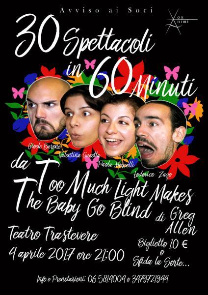 30 Spettacoli in 60 Minuti