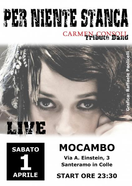 PER NIENTE STANCA- Carmen Consoli Tribute