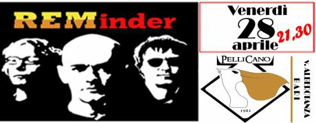 REMinder - R.E.M. Tribute Band @ Pellicano Pub,Bari