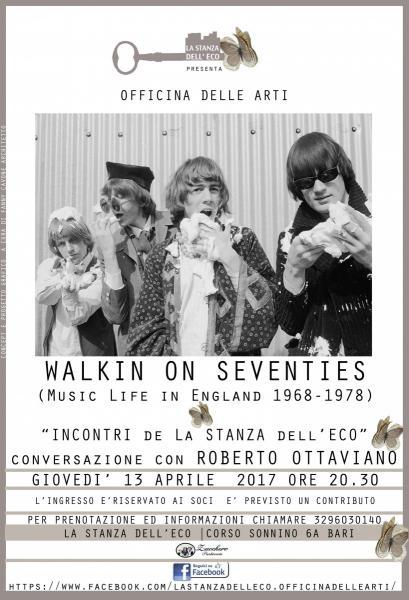LEZIONE di JAZZ con ROBERTO OTTAVIANO. WALKIN ON SEVENTIES (music live in England 1968- 1978) a cura di ROBERTO OTTAVIANO.
