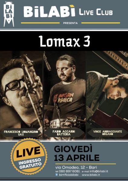Bilabì Live Club - Lomax 3
