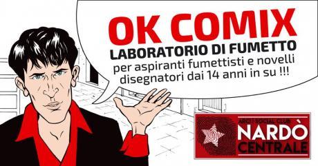 """Corso breve di Fumetto """"Ok Comix"""""""