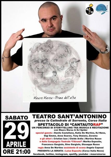 """Mauro Marsu """"Prima dell'alba"""" Live"""
