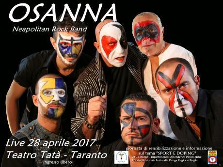 OSANNA (Neapolitan Rock Band) LIVE
