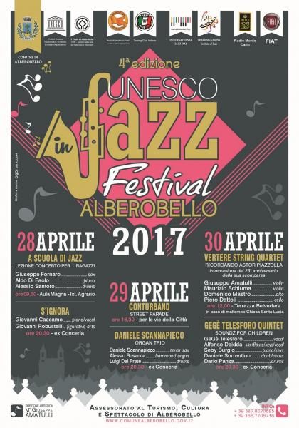 Unesco in Jazz Festival Alberobello