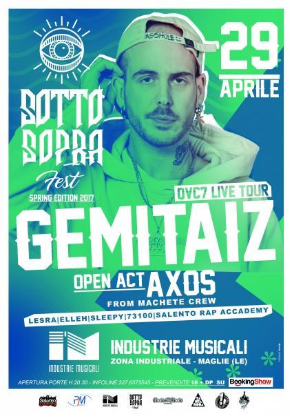 Sottosopra Fest - Gemitaiz + Axos + Priestess + Guest