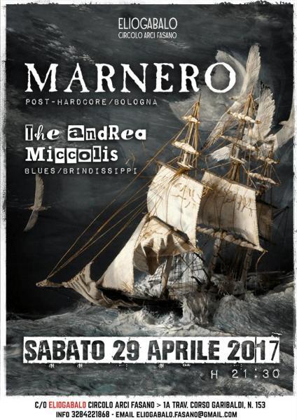 Marnero + The Andrea Miccolis live