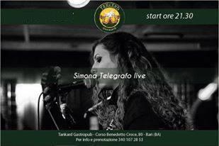 SIMONA TELEGRAFO LIVE at TANKARD PUB