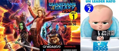 Sala 1 (Guardiani della Galassia Vol. 2)   Sala 2 (Baby Boss)
