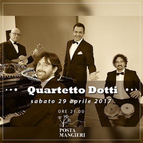 CenaConcerto con Quartetto Dotti