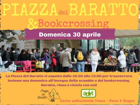 Piazza del Baratto e BookCrossing