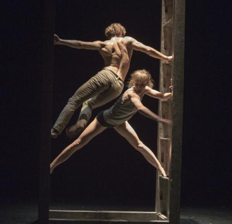 Tabula -  idea e coreografia Katarzyna Gdaniec e Marco Cantalupo